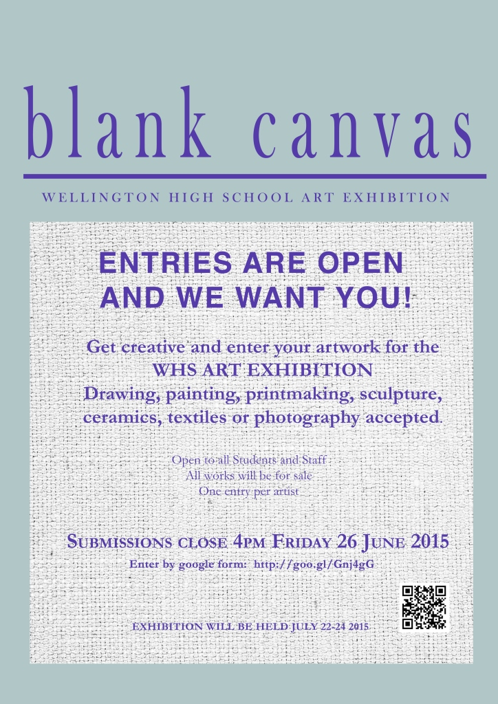 Blank Canvas - Art Exhibition Compressed