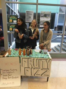 Fizzy Fruit Helena, Shania and Kennedy