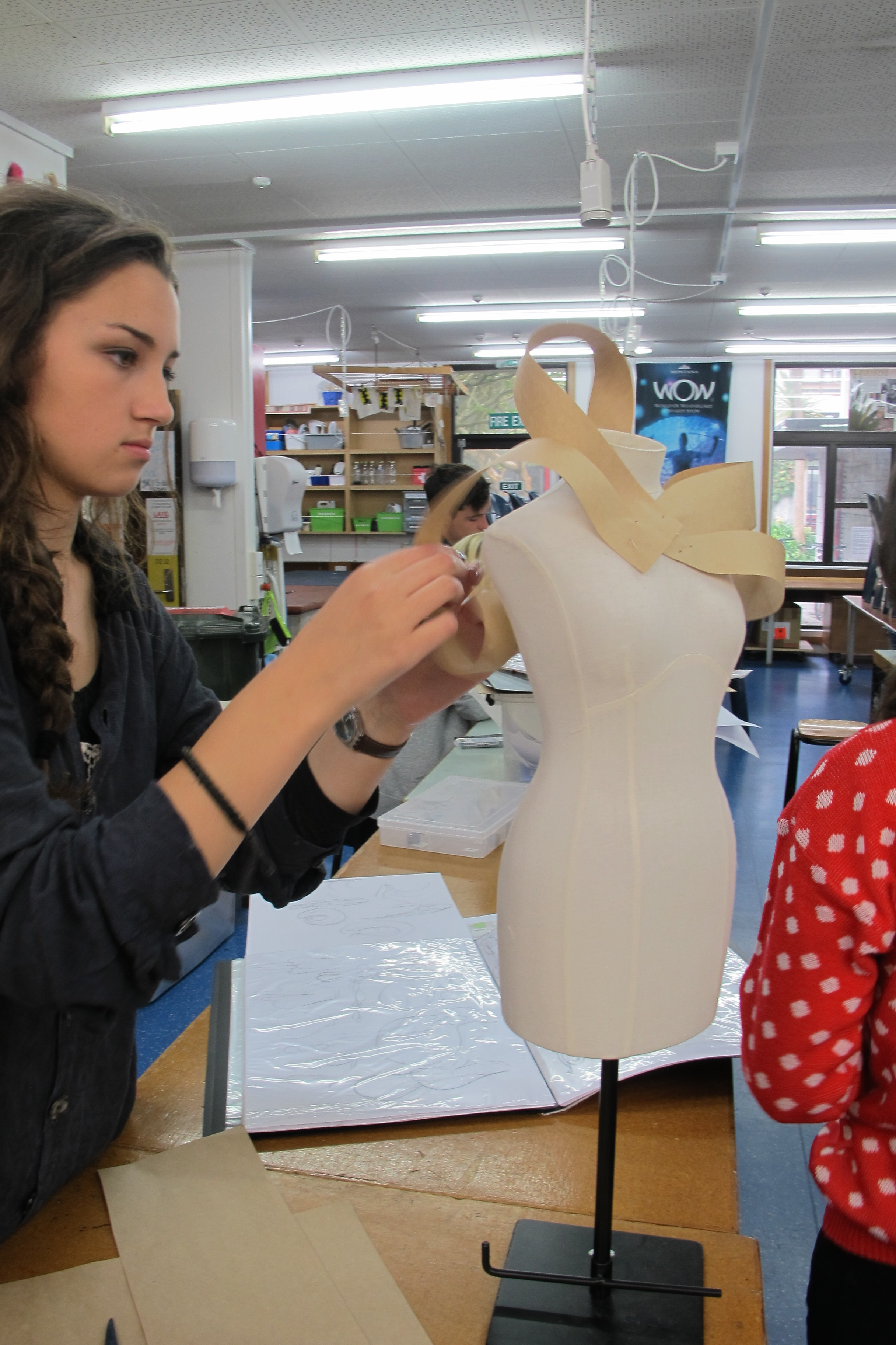 Fashion Student High Flying Dreams Become Reality Wellington High School