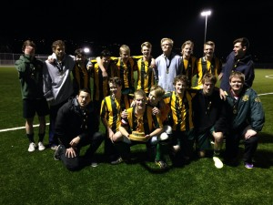 WHS 1st XI win the Youth Championship 2