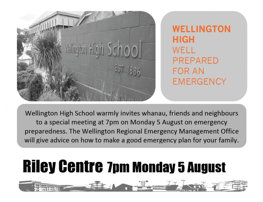 WHS Emergency Preparedness Meeting